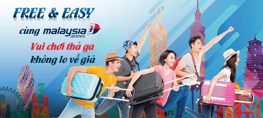 Tour Free Easy cùng Malaysia Airlines