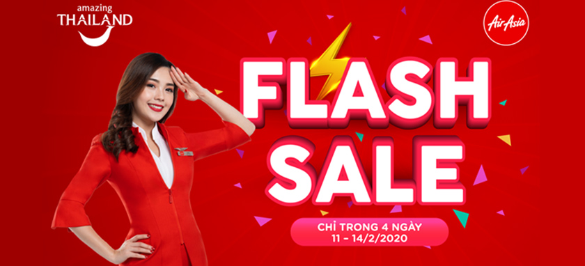 Air Asia Flash Sale