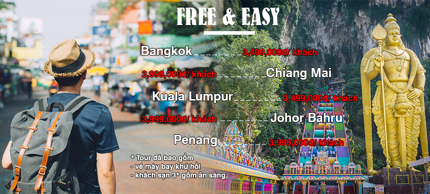 Tour Free & Easy Asian