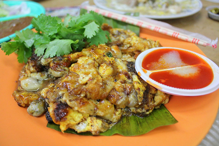 Oyster Omelette / Oh Chien